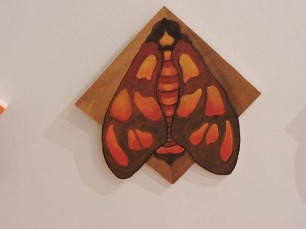 Red/Orange Tiger Moth