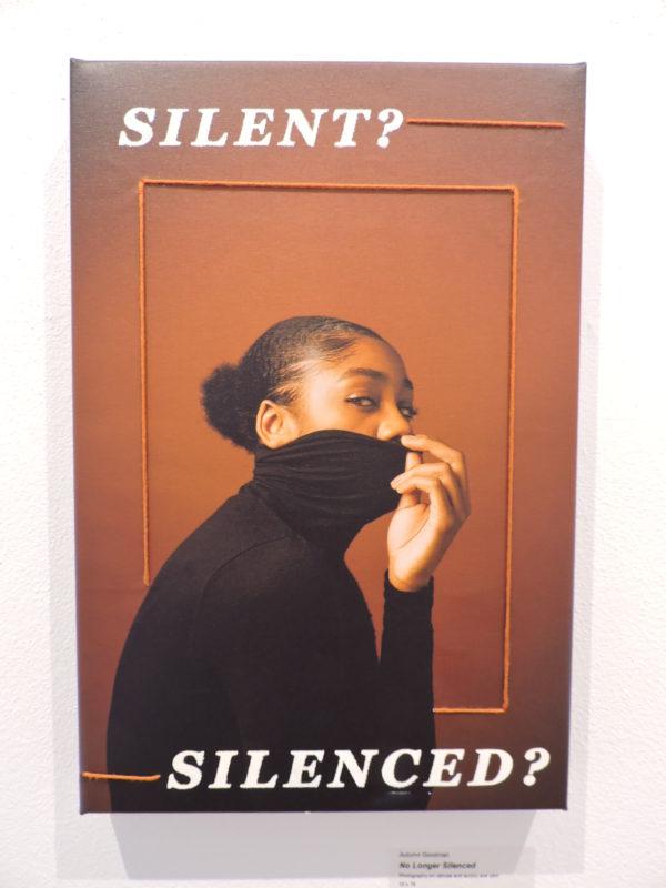 no longer silenced